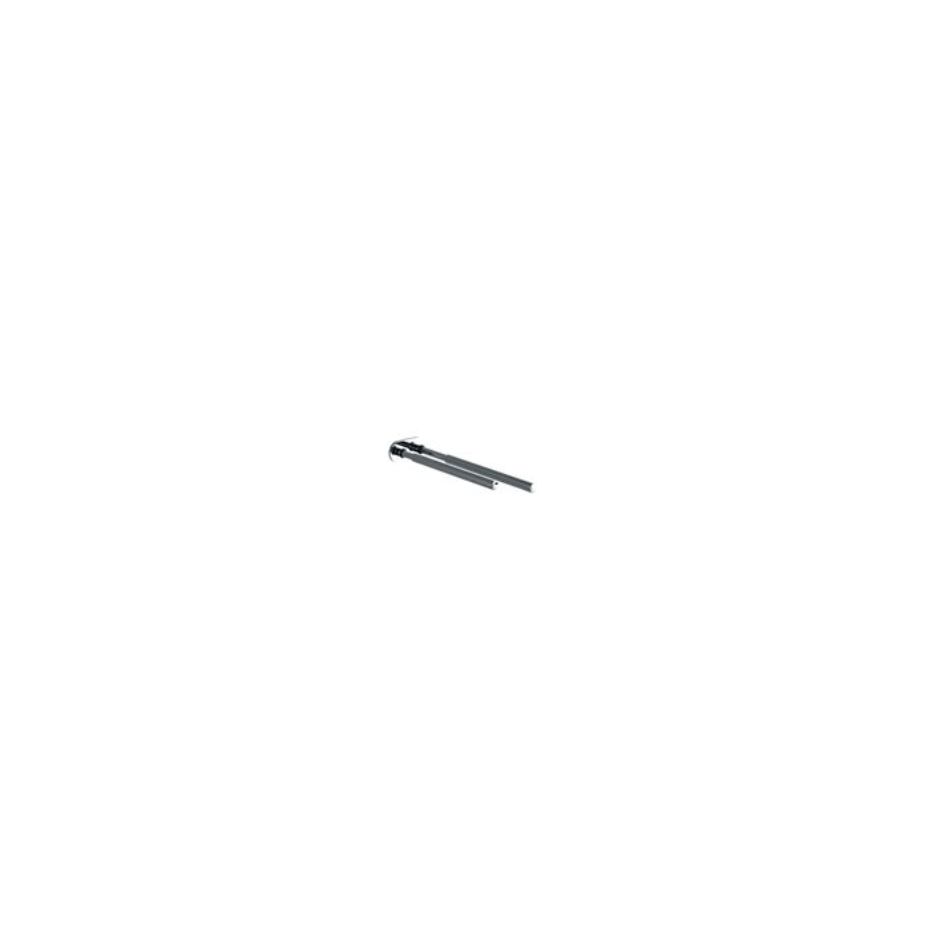 handtuchhalter 2 armig teleskopisch ausziehbar wandmontage. Black Bedroom Furniture Sets. Home Design Ideas