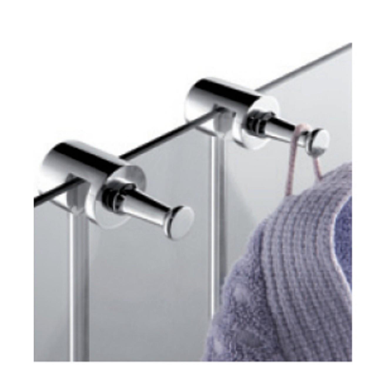duschregal mit drei k rben zum klemmen an eine glasduschwand mit glaswischer treffpunkt bad. Black Bedroom Furniture Sets. Home Design Ideas