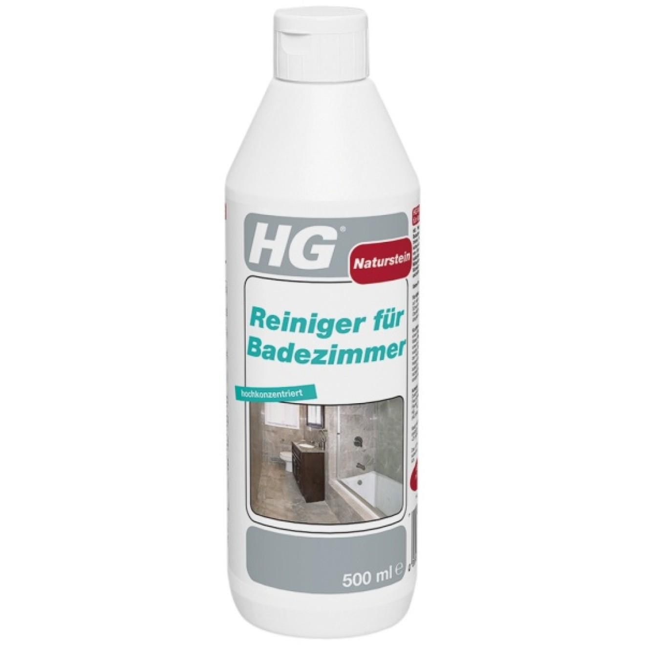Hg natursteinreiniger f r badezimmer flasche 500 ml - Glasduschwand reinigen ...
