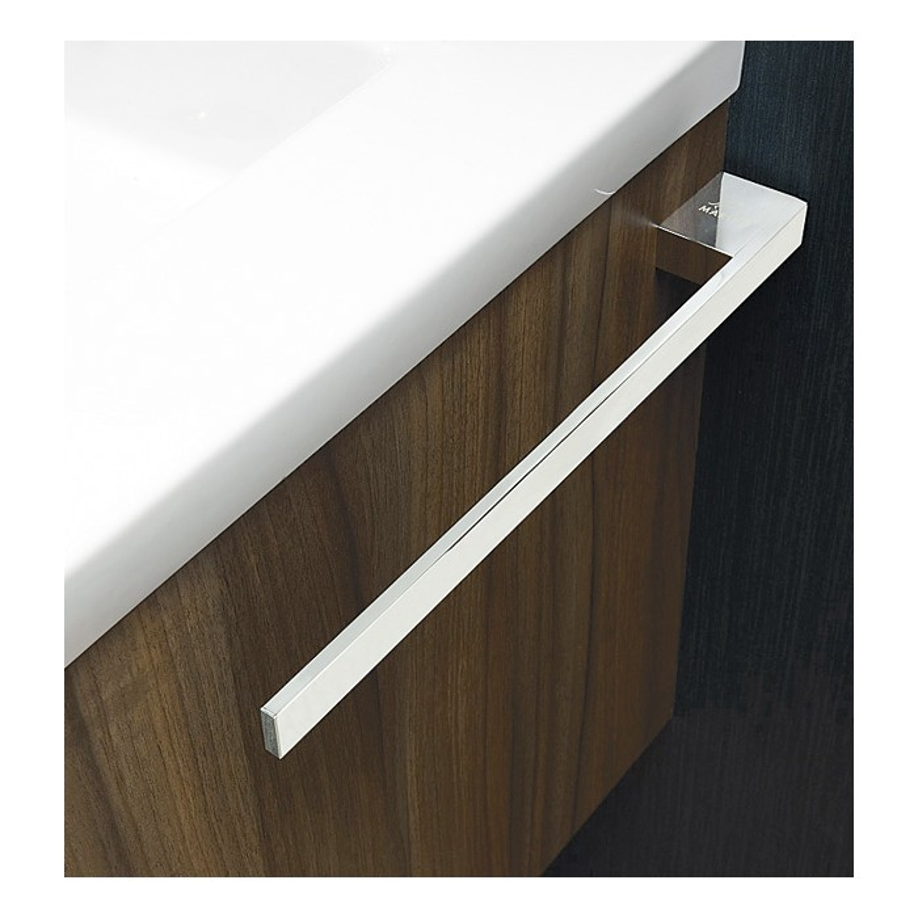 m bel handtuchreling 1 armig 40 cm verchromt treffpunkt bad der shop f r das moderne bad. Black Bedroom Furniture Sets. Home Design Ideas